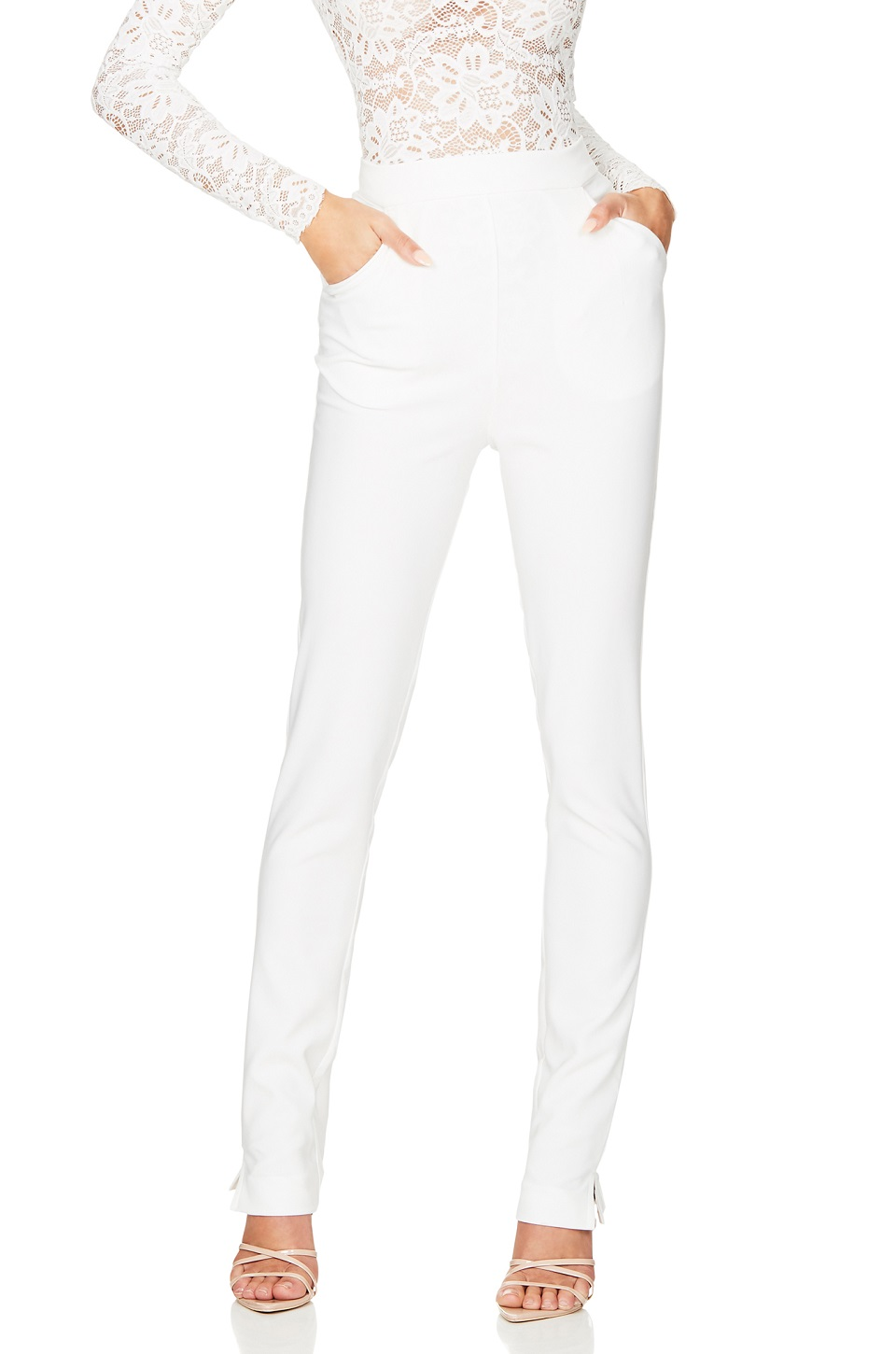 NOOKIE MUSE IVORY PANT