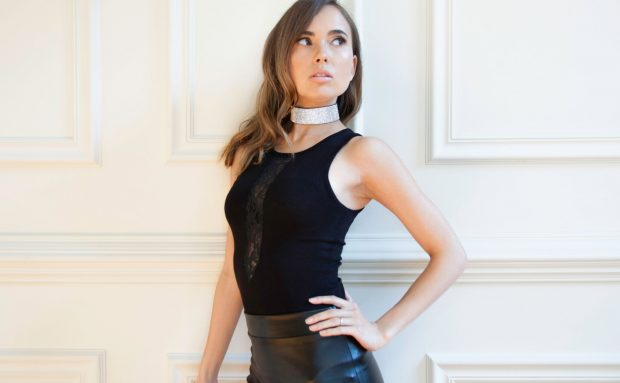 black-lace-bodysuit-rhinestone-choker-620x383